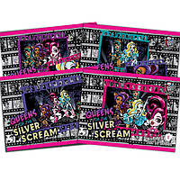 "Альбом для рисования Kite MH14-241-2K 12 листов А4 ""Monster High"" УФ-лак"