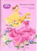 "Бумага цветная Kite ""Princess"" (P12-250K) А4 15 листов двухсторонний"