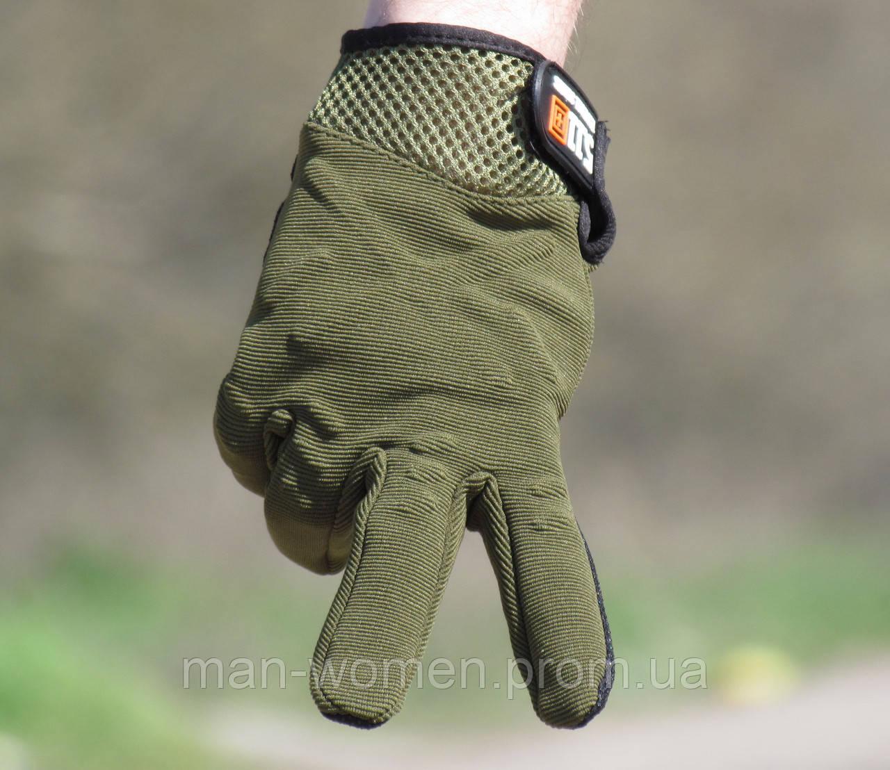 Перчатки тактические 5.11 (tactical series). Олива