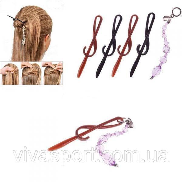 Удобные заколки для волос Twist n Clip, оригинальные заколки Твист ен Клик