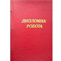 Папки для дипломных проектов Полиграфсервис ВПУ-24 без листов д/дипл бумвинил обл