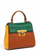 Кожаная сумка женская стильная маленькая 14482A1-W2