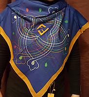 Платок брендовый Fendi натуральный шёлк