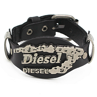 Мужской кожаный браслет Diesel 19 - 23 см