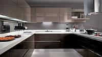 Кухня Premium BLUM-028 Крашеные глянцевые фасады