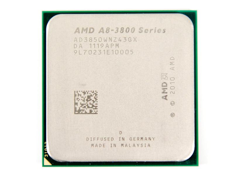 "Процессор AMD A8-3850 2.9GHz FM1 Llano Б\У ""Over-Stock"""