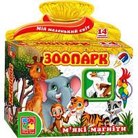 Мягкие магниты Зоопарк VT3101-05 Vladi Toys