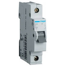 Автоматический выключатель Hager MB110A. Iн=10А, хар-ка B