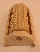 Массажер для ног деревянный на 1 валик