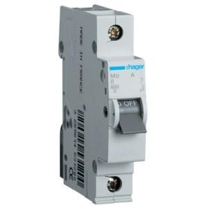Автоматический выключатель Hager MB163A. Iн=63А, хар-ка B