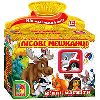 Мягкие магниты Лесные жители VT3101-04 Vladi Toys