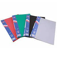 Папка-скоросшиватель Eagle 2001-05 красный, А4, 20 мм, пластик, металлическая пружина, карман