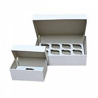 Коробка для капкейков на 6 шт