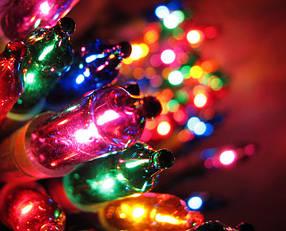 Гирлянды и новогоднее освещение
