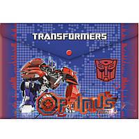 """Папки на кнопке ПЛК TRBB-US1-PLB-EN15 """"Transformers"""" 23,5х33х0,5 см"""