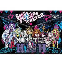"""Папки на кнопке ПЛК MHBB-US1-PLB-EN15 """"Monster High"""" 23,5х33х0,5 см"""