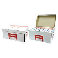 Архиватор SK-1005 белый 57х37,5х26мм короб картон для арх/боксов