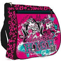 "Сумки ПЛК14 MHBB-RT2-822m розово-черный ""Monster High"" 33х26х9см"