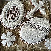 """Набор пряников """" Ажурные пасхальные яйца"""", фото 1"""