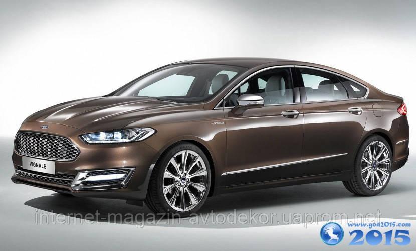 Брызговики модельные Ford Mondeo sd 2015- (Лада Локер)