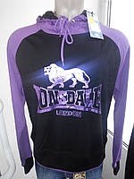 Женское фирменное худи плотное без начеса Lonsdale Англия XL, XXL размер