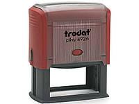 Оснастка для печатей и штампов Trodat 4926 черный Оснастка 75х38мм д/штампа, пласт