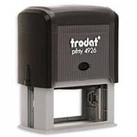 Оснастка для печатей и штампов Trodat 4926 серый Оснастка 75х38мм д/штампа, пласт