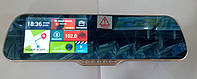 Зеркало заднего вида на Android с регистратором + 2 камеры Х5Е 5 HD Gold  Блютус
