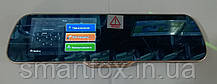 Зеркало заднего вида на Android с регистратором + 2 камеры Х5Е 5 HD Gold  Блютус, фото 3