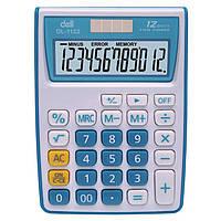 Калькуляторы бухгалтерские Deli 1122Е микс 12 разряд, 120х86х30 Vivid