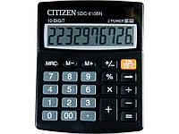 Калькуляторы бухгалтерские Citizen SDC-812BN серый 12 разряд, 100*125*34 пластик корп, пласт кн
