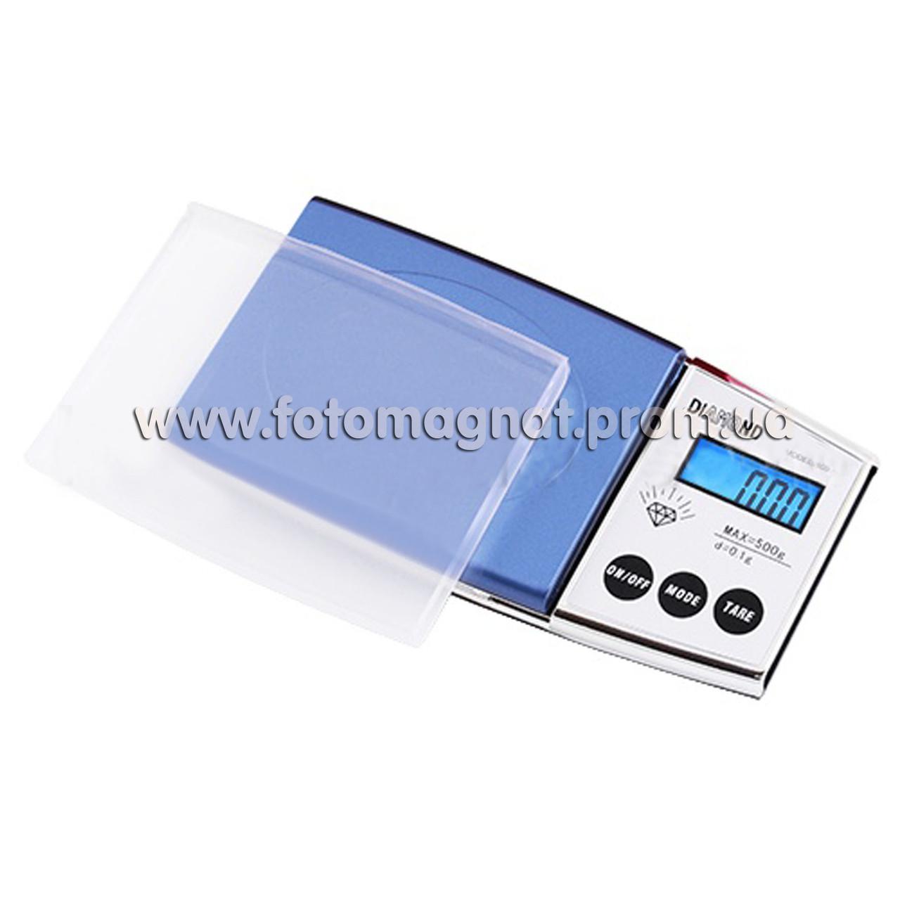 Ваги ювелірні A01/MODEL500/ 500 г 0.01 (кишенькові ваги)