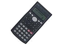Калькуляторы инженерные Deli 1710 12 разр, 2-стр диспл 240 фукций, 168х84х18