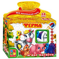 Мягкие магниты Ферма VT3101-03 Vladi Toys