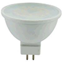 Лампа диодная Ultralight LED-MR16/SXW-5W-N  Eco 5Вт (аналог 35Вт), 50х48мм, цоколь G5.3, 4100К цветовая температура, пластик