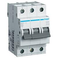 Автоматический выключатель Hager MB320A. Iн=20А, 3п, хар-ка B