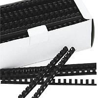 Пружина пластиковая Deli 3833 6мм/100шт/уп