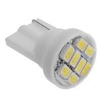 Светодиодная лампа цоколь Т10 (W5W) 8-SMD 1206, 24В