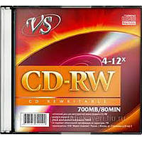 Диск VS CD-RW 700 MB 4-12x (СМС)