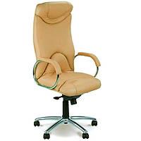Кресла офисные для руководителей нс LE-F бежевый Elf Steel Chrome