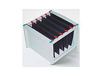 Бокс для карточек Helit 61100-84 серый Ящик для подвесных файлов