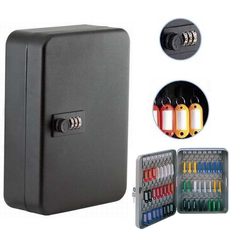 Шкафчик для ключей Buromax 0411 черный 36 матовый с брелками - Интернет-магазин «Моё дело» в Харькове