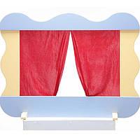 Набор игрушек ЧудиСам К071 (В-106) Настольная ширма для кукольного театра (разборная, шторы)