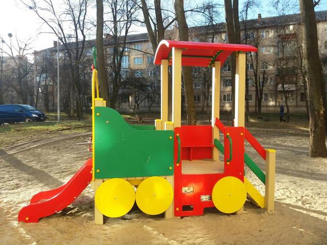 Детские игровые площадки, песочницы