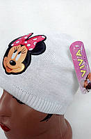 Шапка детская для девочки Минни маус