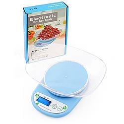 Ваги кухонні електронні QZ 161A, 5кг, чаша (електронні ваги)