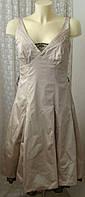 Платье женское шикарное красивое вечернее выпускное миди Debenhams р.44 6267а