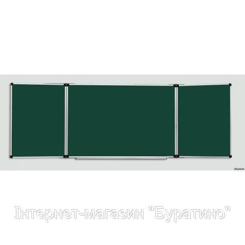 Доска для мела 400х100 см АВС (Чехия) в алюминиевой рамке, фото 1
