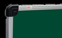 Доска для мела 200х100 см АВС (Чехия) в алюминиевой рамке, фото 1