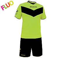 Футбольная форма Givova kit Vittoria fluo